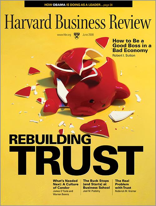 Harvard Business Review, June 2009 ^ BR0906