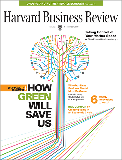 Harvard Business Review, September 2009 ^ BR0909