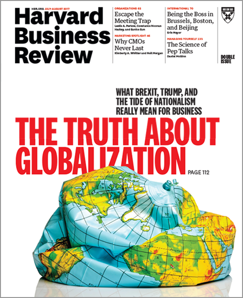 Harvard Business Review, July/August 2017 ^ BR1704