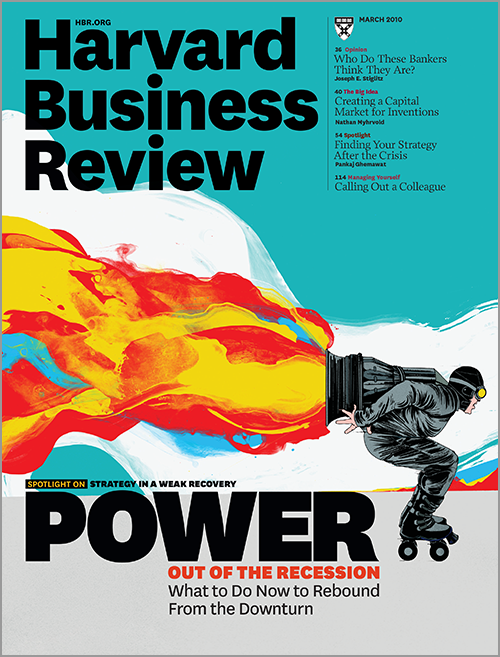 Harvard Business Review, March 2010 ^ BR1003