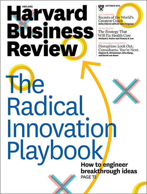 Harvard Business Review, October 2013 ^ BR1310