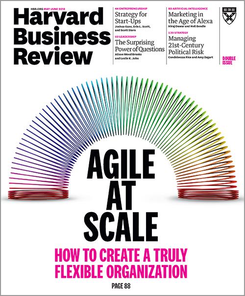 Harvard Business Review, May/June 2018 ^ BR1803