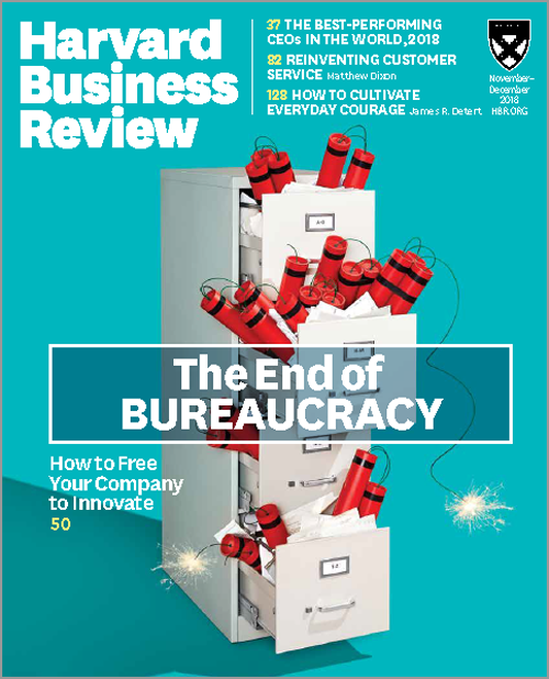 Harvard Business Review, November/December 2018 ^ BR1806