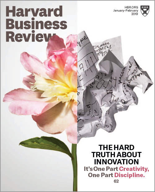 Harvard Business Review, January/February 2019 ^ BR1901