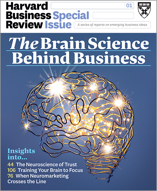 The Brain Science Behind Business (HBR Special Issue) ^ BR1907