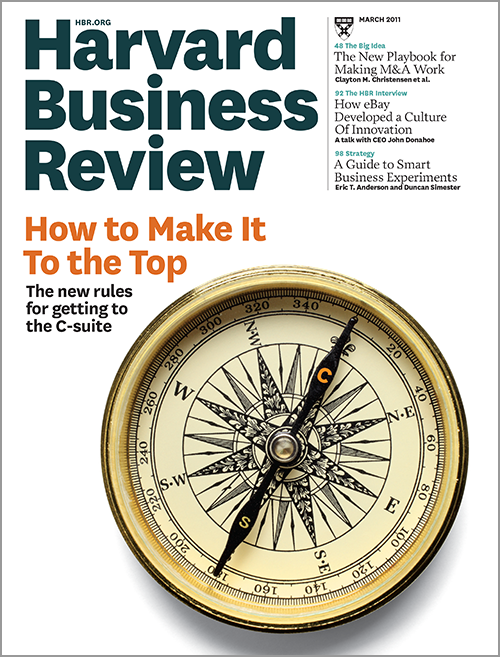 Harvard Business Review, March 2011 ^ BR1103