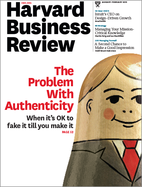 Harvard Business Review, January/February 2015 ^ BR1501