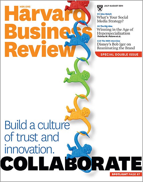 Harvard Business Review, July/August 2011 ^ BR1107