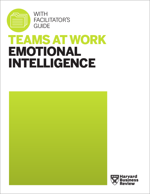 Teams at Work: Emotional Intelligence (with Facilitator's Guide) ^ TWEMO1