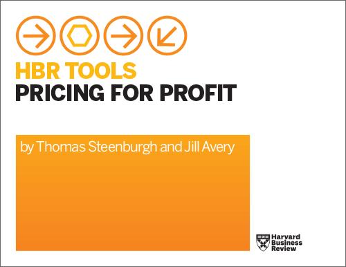 HBR Tools: Pricing for Profit ^ TLPFP1