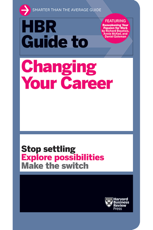 HBR Guide to Changing Your Career ^ 10140
