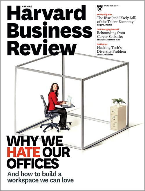 Harvard Business Review, October 2014 ^ BR1410
