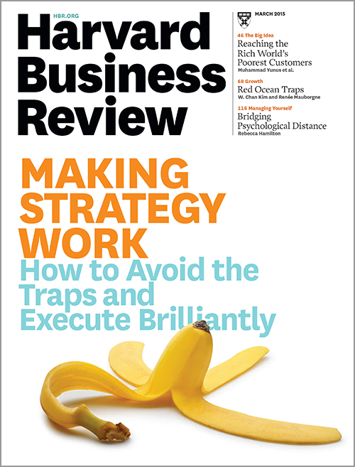 Harvard Business Review, March 2015 ^ BR1503