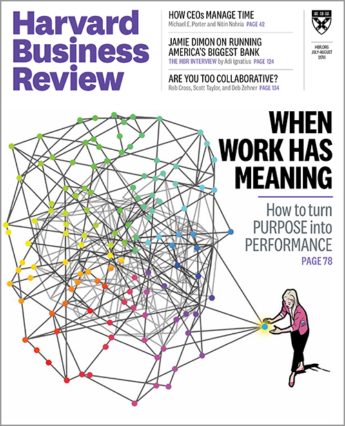 Harvard Business Review, July/August 2018 ^ BR1804