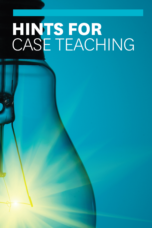 Hints for Case Teaching ^ 585012