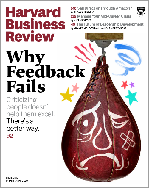 Harvard Business Review, March/April 2019 ^ BR1902