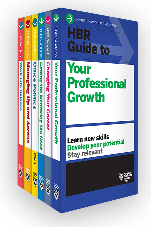 HBR Guides to Managing Your Career Collection (6 Books) ^ 10370