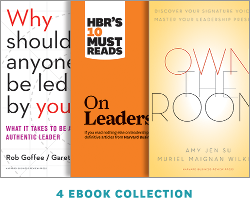 The Authentic Leadership Ebook Collection: Master Your Leadership Presence ^ 1092BN
