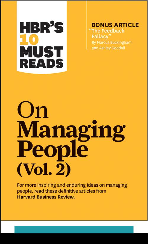 HBR's 10 Must Reads on Managing People, Vol. 2 (Paperback + Ebook) ^ 1098BN