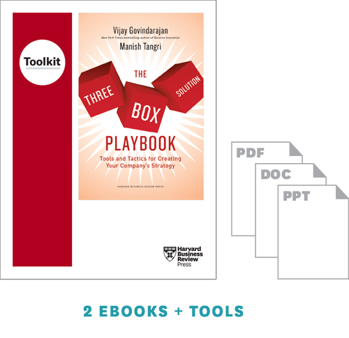 The Three-Box Solution Strategy Toolkit Set ^ 10423