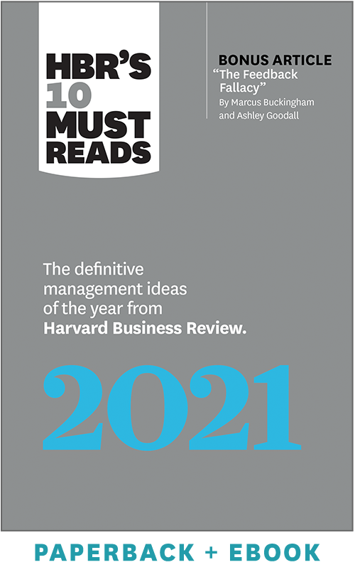 HBR's 10 Must Reads 2021 (Paperback + Ebook) ^ 1110BN
