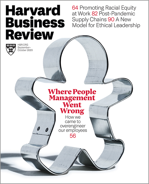 Harvard Business Review, September/October 2020 ^ BR2005