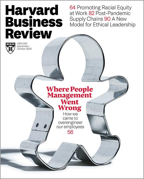 Harvard Business Review, September/October 2020 ^ BR2005
