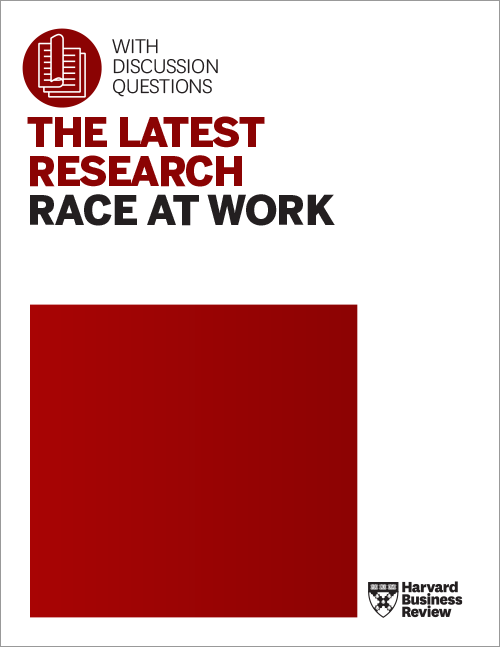 The Latest Research: Race at Work ^ RACEAW