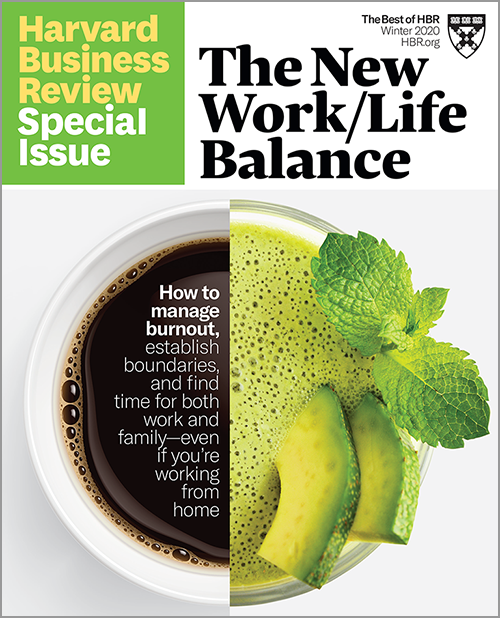 The New Work/Life Balance (HBR Special Issue) ^ SPWI20