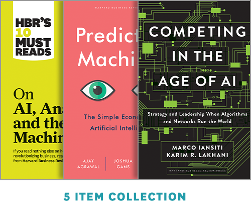 Artificial Intelligence Set: How to Stay Competitive in an AI World ^ 1121BN