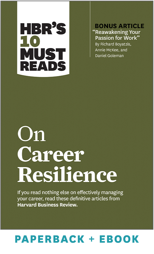 HBR's 10 Must Reads on Career Resilience (Paperback + Ebook) ^ 1116BN