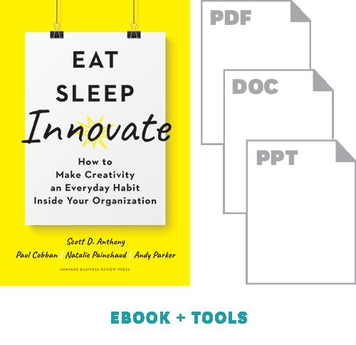 The Eat, Sleep, Innovate BEANstorming Workshop Toolkit ^ 10499
