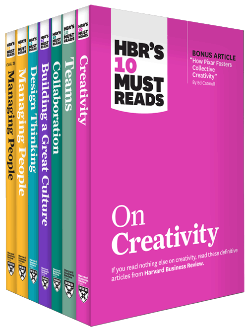 HBR's 10 Must Reads on Creative Teams Collection (7 Books) ^ 10433