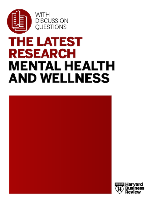 The Latest Research: Mental Health and Wellness ^ MENTHL