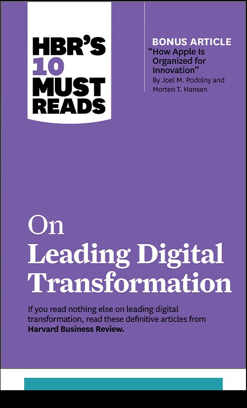 HBR's 10 Must Reads on Leading Digital Transformation (Paperback + Ebook) ^ 1124BN