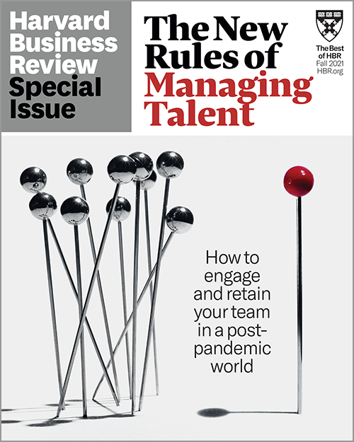 The New Rules of Managing Talent (HBR Special Issue) ^ SPFA21