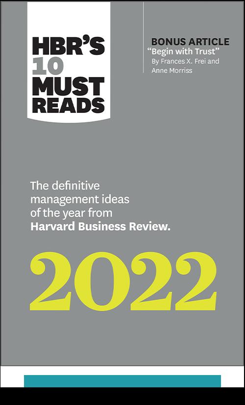 HBR's 10 Must Reads 2022 (Paperback + Ebook) ^ 1125BN
