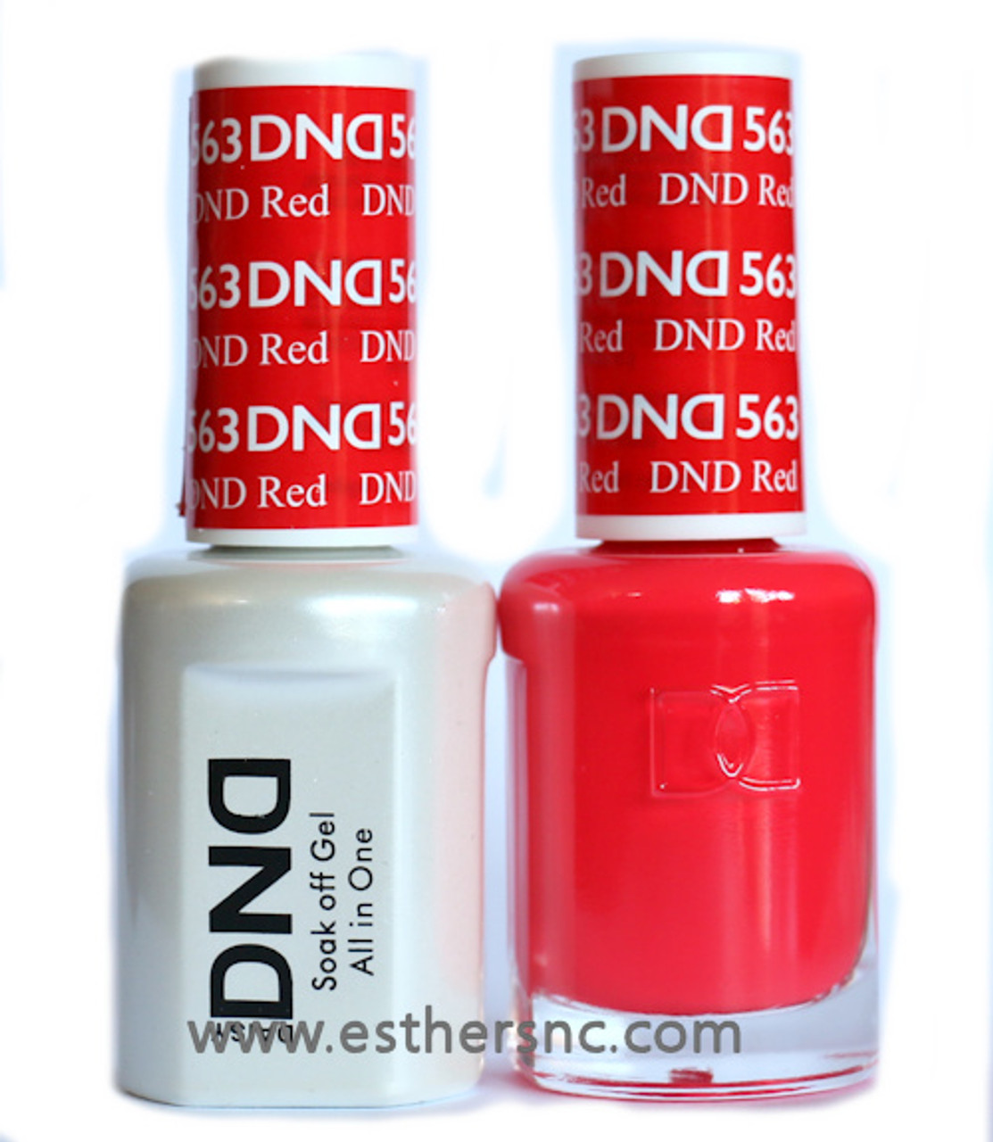 Daisy Gel Polish Dnd Red 563