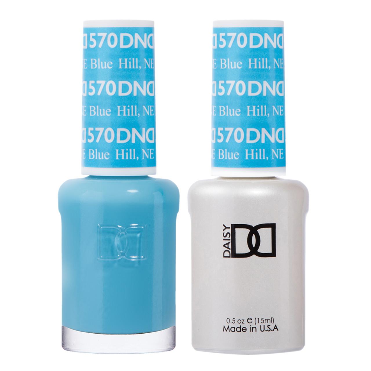 Daisy Gel Polish Blue Hill Ne 570