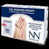 Nail Foil Remover Wraps 100ct
