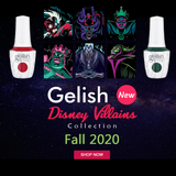 Gelish Disney Villains  Fall 2020 Collection