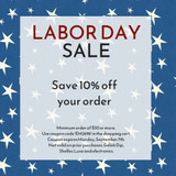 Labor Day Sale Going On Now