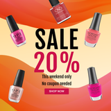 20% Nail Lacquer Sale . This weekend only!