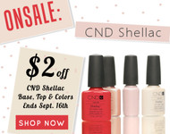 CND Shellac Big Sale - This Weekend Only!