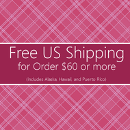 FREE Standard Shipping for Order $60 or More
