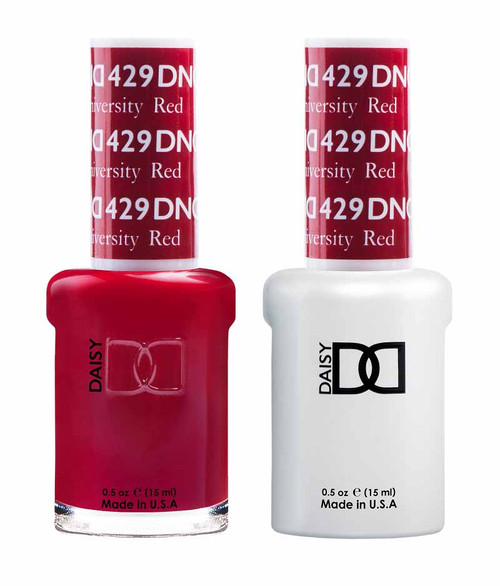 Daisy Gel Polish Boston University Red 429
