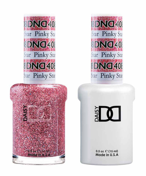 Daisy Gel Polish Pinky Star 408