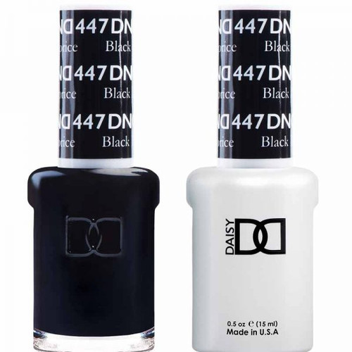 Daisy Gel Polish Black Licorice 447