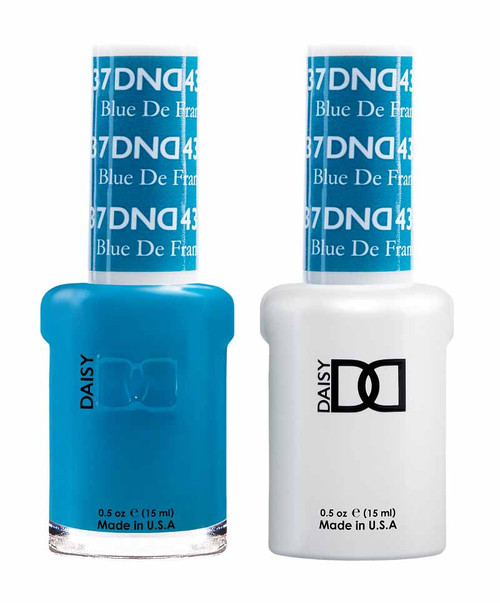 Daisy Gel Polish Blue De France 437