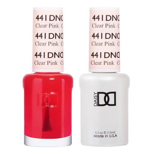 Daisy Gel Polish Clear Pink 441